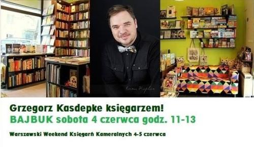 Grzegorz Kasdepke księgarzem!