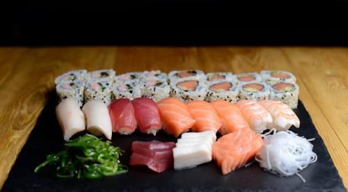 Sushi na Placu Unii
