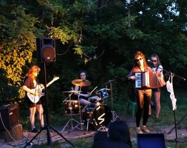 Koncerty w ogrodzie